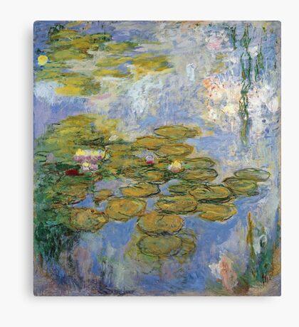 Claude Monet - Water Lilies 1919 Canvas Print