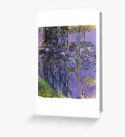 Claude Monet - Water Lilies 1919 4 Greeting Card