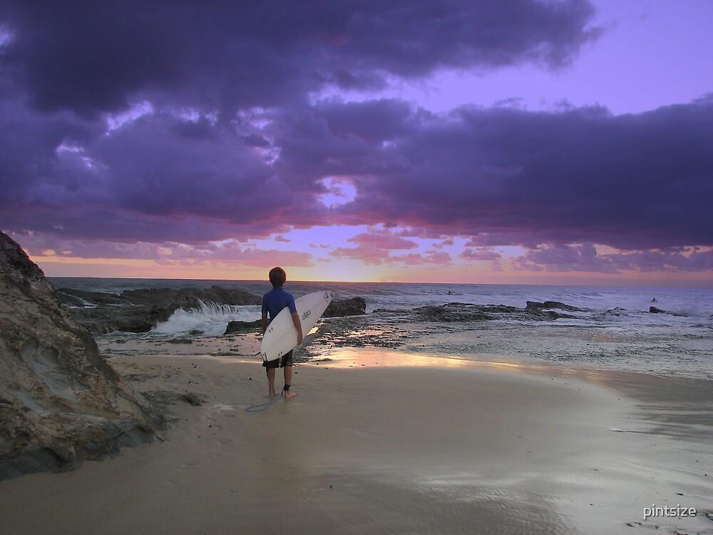 SUNRISE SURFER by pintsize
