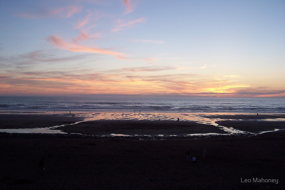 Sunset in Bude by Leo Mahoney