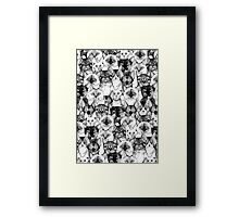 just cats Framed Print