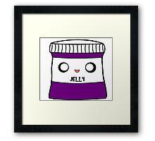 Jelly jar Framed Print