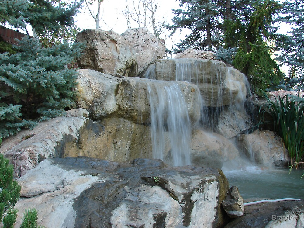 Rocks and water. by Brandee
