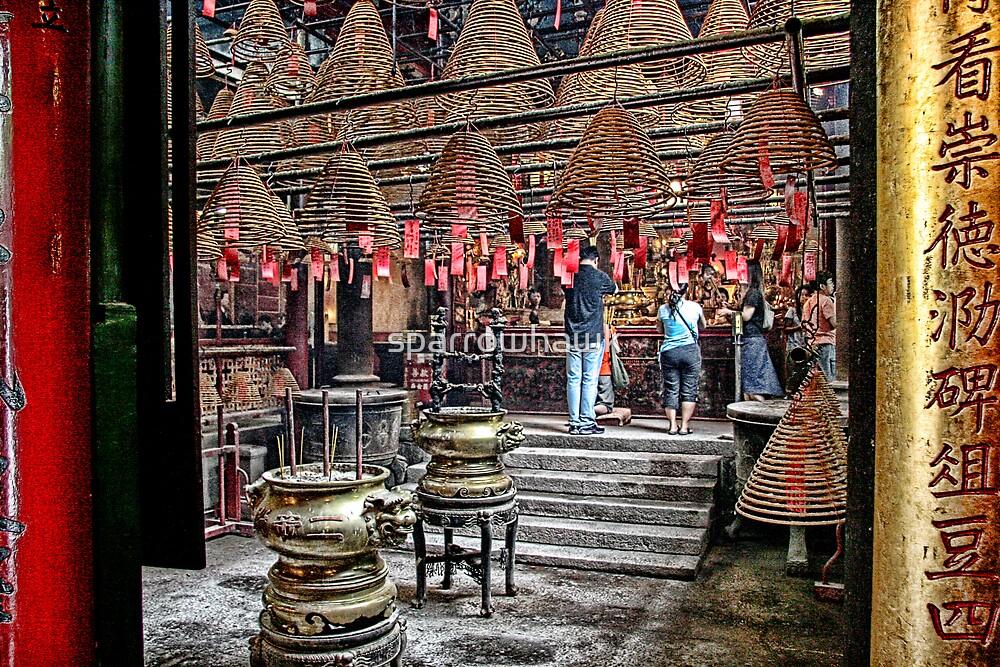 Hong Kong - Man Mo Temple by sparrowhawk