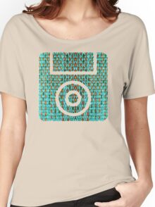 FLOPPY DISK. WHY DON'T YOU BYTE ME Women's Relaxed Fit T-Shirt