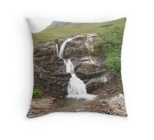 Just After Glencoe Throw Pillow