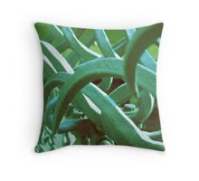 Twisted gate Throw Pillow