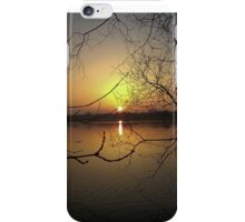Colwick sunset iPhone Case/Skin
