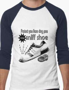 sniff shoe Men's Baseball ¾ T-Shirt
