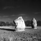 Avebury - Adam and Eve by Bruce Halliburton