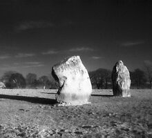 Avebury - Adam and Eve by Bruce Halliburton