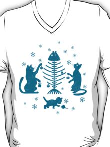 Cats at Christmas T-Shirt