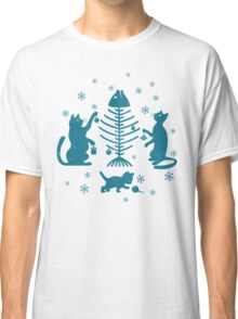 Cats at Christmas Classic T-Shirt