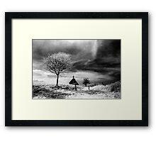 Lonely Cottage Framed Print
