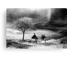 Lonely Cottage Canvas Print