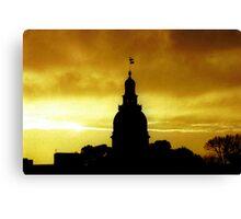 Capital of Maryland Canvas Print