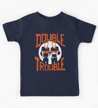 Official Phelps Twins - Double Trouble Tee Kids Tee