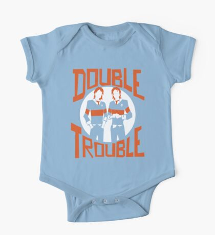 Official Phelps Twins - Double Trouble Tee One Piece - Short Sleeve