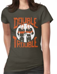 Official Phelps Twins - Double Trouble Tee Womens Fitted T-Shirt