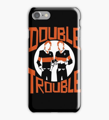 Official Phelps Twins - Double Trouble Tee iPhone Case/Skin