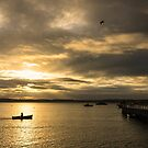 In the air and on the water - Warrnambool  by Norman Repacholi