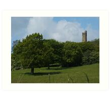 Castle Hill Art Print