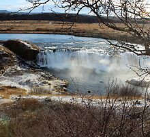 Vatnsleysufoss Waterfall by karina5