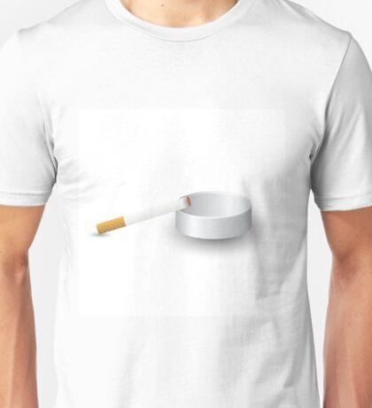 ashtray and cigarette Unisex T-Shirt