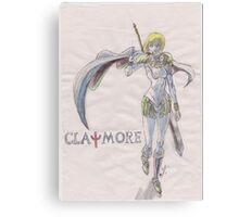 Clare From Claymore  Canvas Print