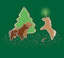 Gingerbread Unicorn by Jessie Sima