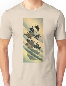 'Turtles' by Katsushika Hokusai (Reproduction). Unisex T-Shirt