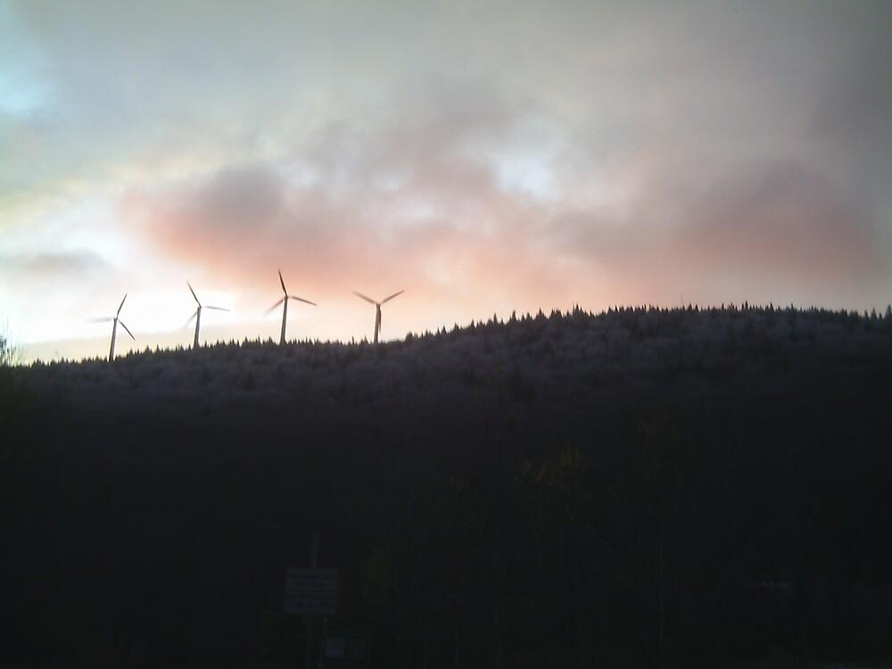 Windmills 1 by Brian Burdick