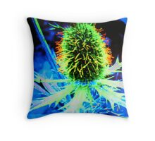 AN EXTREMELY COLORIFUL LIFE Throw Pillow