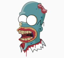 Zombie Homer Simpson by HectorGonzalez