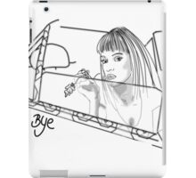 BYE... iPad Case/Skin