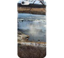 Vatnsleysufoss Waterfall iPhone Case/Skin