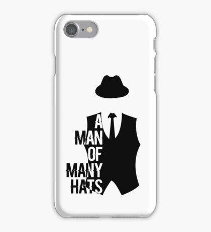 A man of many huts iPhone Case/Skin
