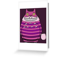 Cheshire Totoro Evanescent Greeting Card