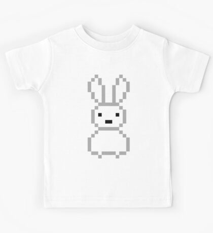 White bunny Kids Tee