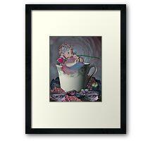 Little Tea Cup Framed Print