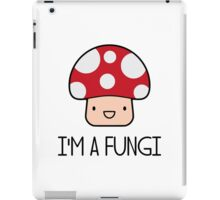 I'm a Fungi Fun Guy Mushroom iPad Case/Skin