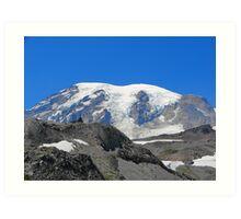 Mount Rainier 584 Art Print