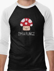 I'm a Fungi Fun Guy Mushroom Men's Baseball ¾ T-Shirt