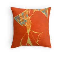Brazilian Dancer - Series 2 Throw Pillow
