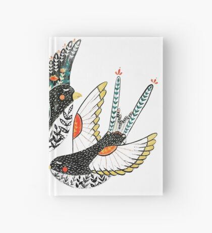 Sparrow & Swallow Hardcover Journal