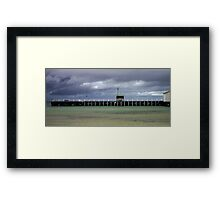 Sorrento pier Framed Print