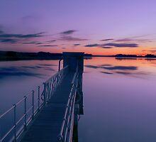 Scottish Sunset by Chris Clark