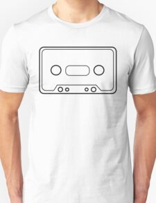 Retro Vector Cassette Tape T Shirt T-Shirt