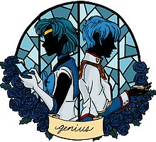 Mercury x Miki - GENIUS by andreacecelia