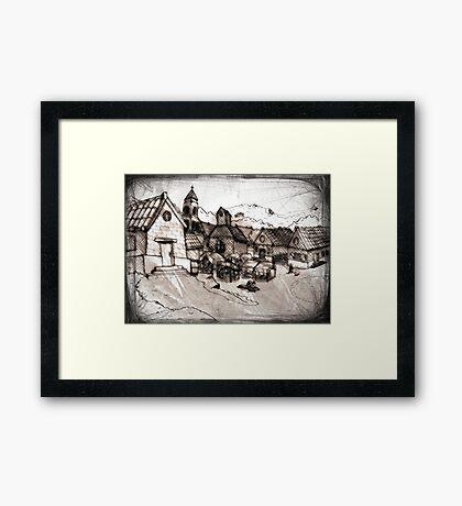 Vieux Village Framed Print